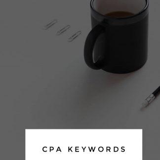 CPA Keywords