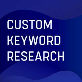 Custom Keywords