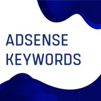 ADSENSE Keywords