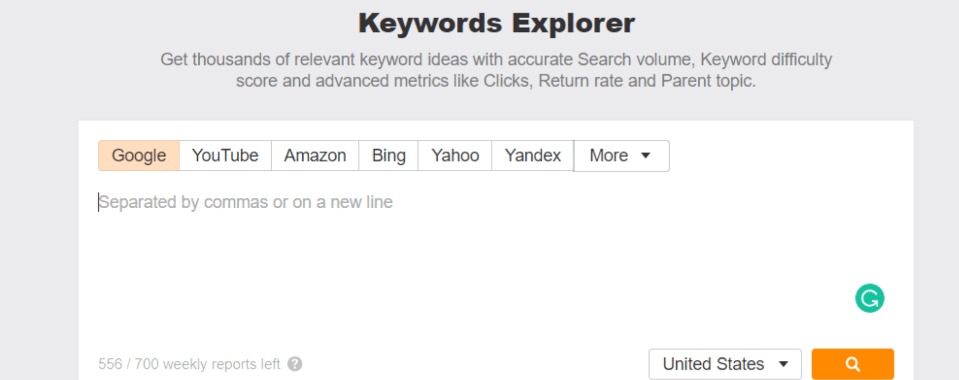 Keywords Using Keyword Explorer Tool?